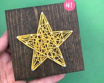 READY TO SHIP String Art Mini Star Sign