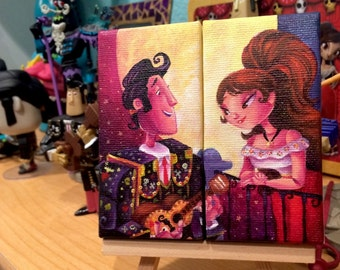 book of life mini canvas set