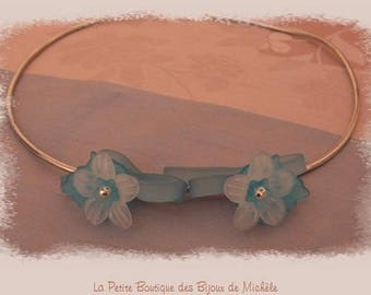 Silicone necklace thoughts Turquoise and white