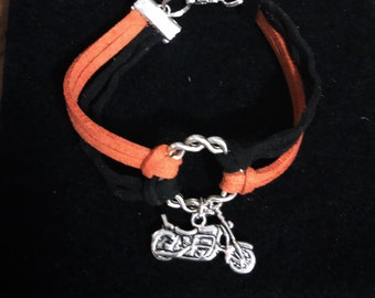 Biker Bracelet, Harley Bracelet, Biker Chick, Biker Jewelry, Biker