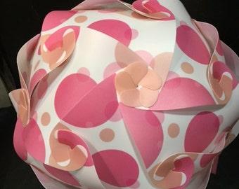 Pink Bubbles IQ Puzzle Lamp