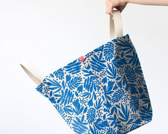 Bucket Totes - Tropical Cobalt (more sizes)