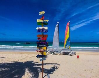 Navigational Beacon, Ocean Photography, Beach Photography, Landscape Photography, Travel Photography, Beach Landscape, Mexico Landscape