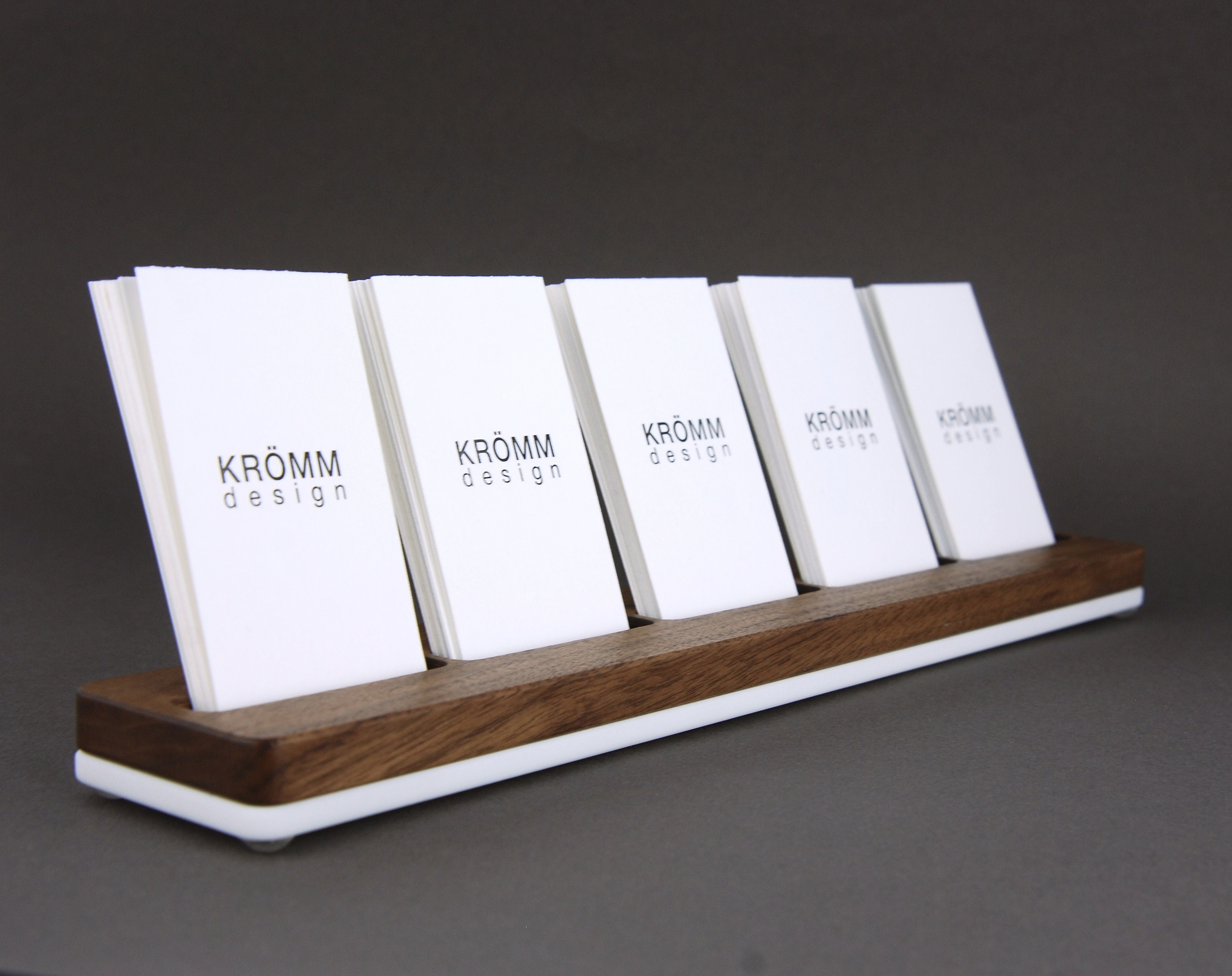 MOO Business Card Holder / Business Card Stand / Business Card ...