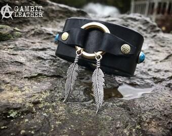 The Aztec Cuff bracelet