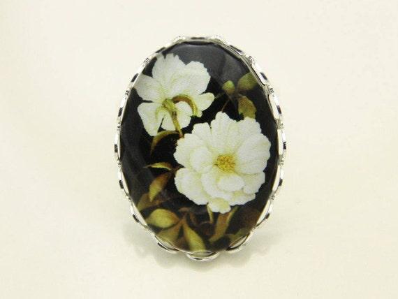 White flower ring flower ring 1825b like this item mightylinksfo