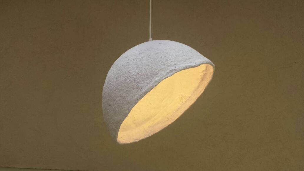 Papier Pappmaché Lampen Anhänger Lampenschirm aus