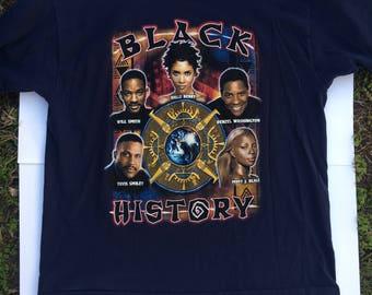 Vintage black history month t-shirt