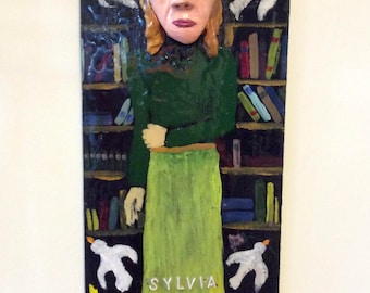 Sylvia Plath Effigy
