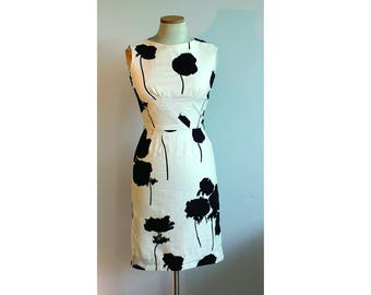 1960s Sue Leslie Fitted Dress // Extra Small