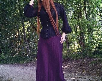 Victorian Taffeta Fan skirt sample sale