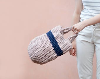 Small Crochet Pod Bag