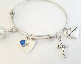 baptisms name swarovski sterling gifted bracelet by silver lavender memories personalised baptism and