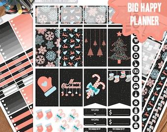 Christmas Planner Stickers Printable, Big Happy Planner Stickers, Weekly Planner Kit, Planner Stickers, Big MAMBI Planner Stickers, Planner