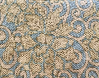 "Ralph Lauren Home Designer Fabric 48"" x 46"" lovely fabric"