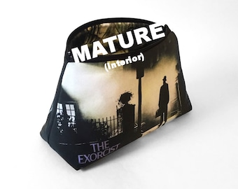 """The Exorcist Clutch Bag (""""Scary"""" Interior)"""