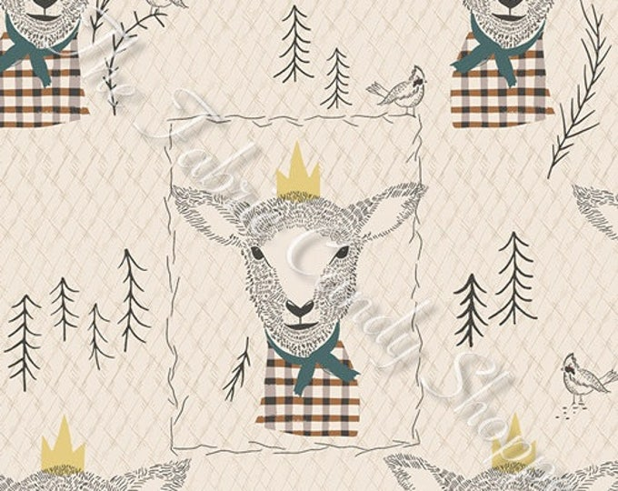 Lambkin by Art Gallery Fabrics - Sir Wooly - Cotton Woven Fabric