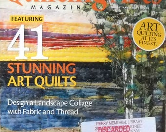 Quilting Arts Magazine February March 2017 Issue 85 Quilt Patterns