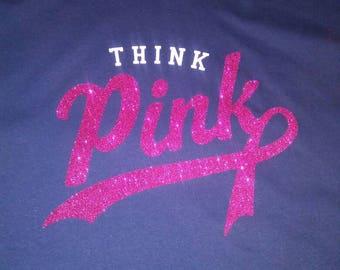 Breast Cancer Awareness Tshirt, Think Pink Shirt