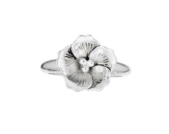 Custom Cherry Blossom Ring