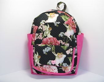 Fairies & Flowers Preschool Backpack