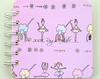 Ballerina - Dancing Girl - Post It Note Holder Planner
