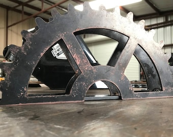 Industrial Gear / Letter Holder (FREE SHIPPING)