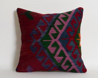 vintage farmhouse decor kilim pillow rustic decor lake house decor shabby chic turkish kilim rug throw pillow cushion farmhouse pillow