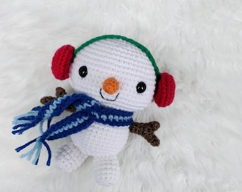 Amigurumi Snowman : Pdf crochet bear pattern tutorial amigurumi bear pattern