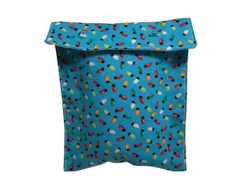 Holiday Lights project bag Notions Pouch