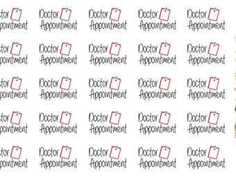 Doctor Appointment Wordy Icons WI001