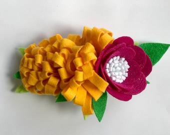 Floral Felt Crown