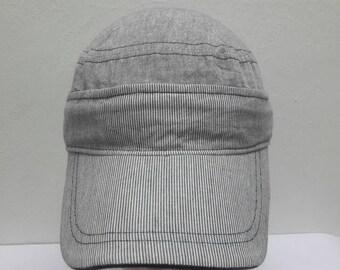 Vintage 80s 90s Adidas Trefoil Strapback Adjustable Trucker Cap Baseball Cap Hat