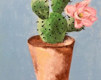 Cactus - Acrylic Painting
