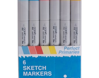 Copic Markers Perfect Primaries