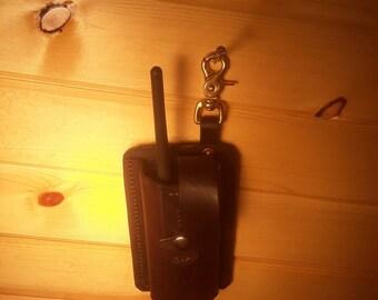 Leather garmin alpha holster