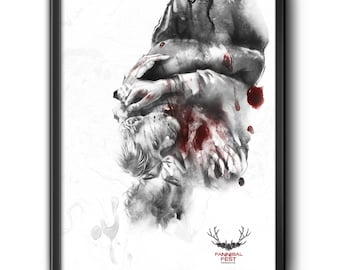 Limited Edition FannibalFest Exclusive Poster by RolaFanArts
