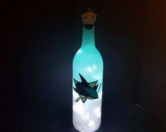 Philadelphia Flyers bottle light Flyers fan Flyers gift