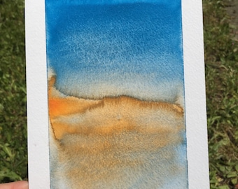 "Original Watercolor Painting- ""Gradient 1"""