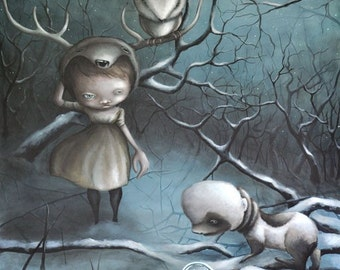 """Limited edition Giclee print """"Cacotopia"""""""