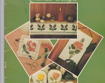 Roses Charted Designs Booklet From the Archives of the Lindberg Press
