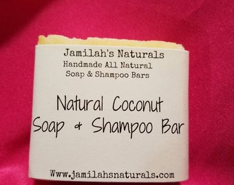 Coconut Bar Soap for Children & Babies
