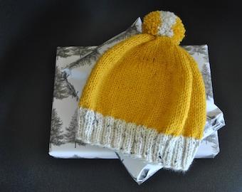 Ecru Yellow Hat child