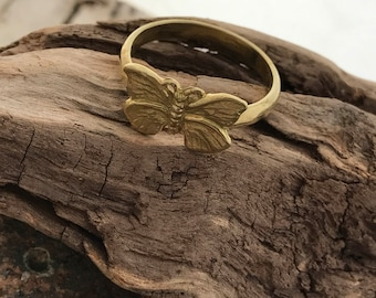 Green Girl Studios Butterfly Ring