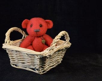 Kunstenaar teddybeer   OOAK   Ruby