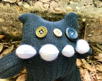 Gregor sock monster -Ready to ship!