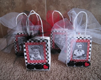 I Love Lucy Party Favor Bags - Set of Six