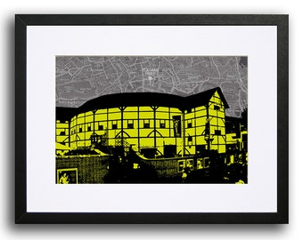 The Globe Theatre, London - Lime