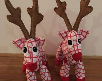 Rudy christmas reindeer