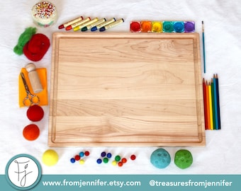 Wooden Craft Board ~ Lap Desk Board ~ Painting Board